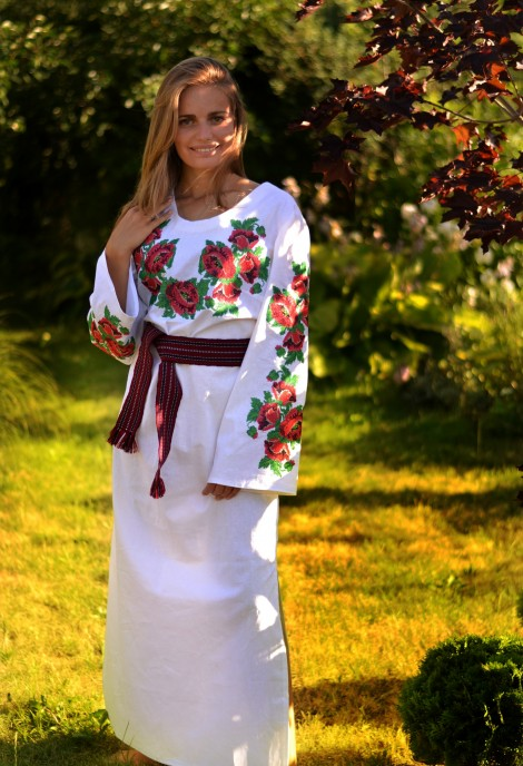 Маки-сукня